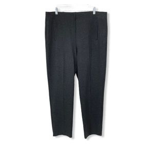 Chico's NEW Pull On Knit Pants Gray Tummy Panel 16
